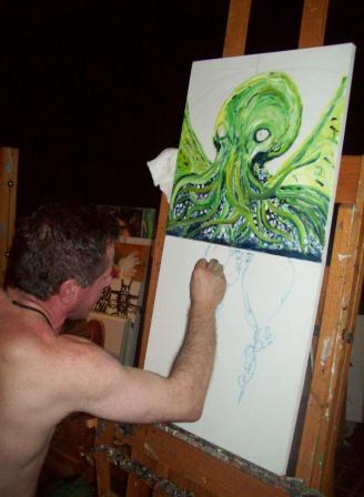 Clive Barker - The Studio - August 2008