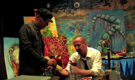 Clive Barker - The Studio - early 2009