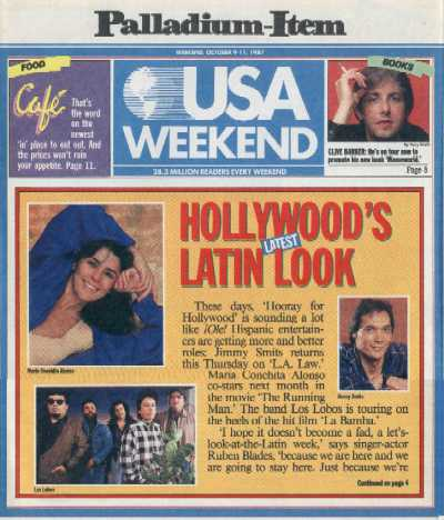 USA Weekend - 9-11 October 1987