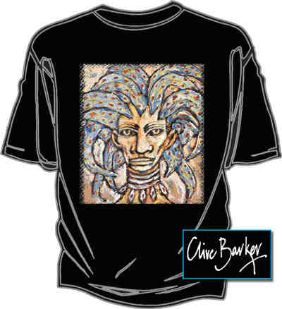 Graphic Gear - Clive Barker - Warrior T-shirt